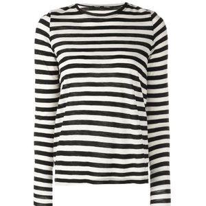 PROENZA SCHOULER striped long-sleeved T-shirt